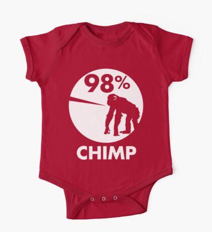 98 Percent Chimp One Piece - Short Sleeve