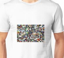 A Bunch of Album Covers Making ARt Unisex T-Shirt