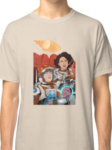 broad city on space Classic T-Shirt