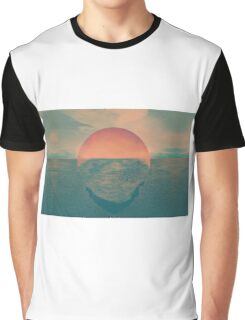 Sun contrast the earth Graphic T-Shirt