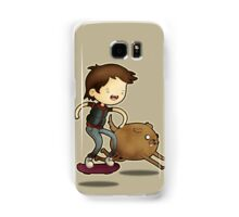 Back to the Future Time! Samsung Galaxy Case/Skin