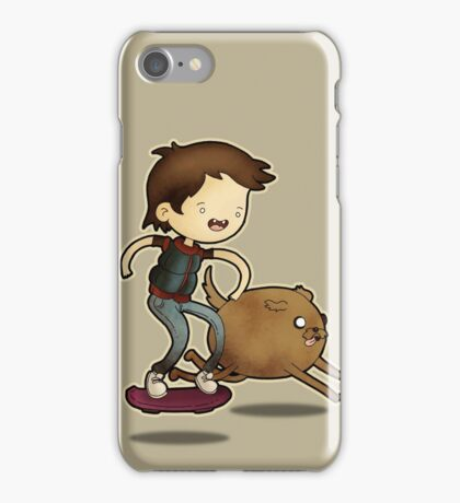 Back to the Future Time! iPhone Case/Skin
