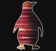 Warp Speed Penguin  Kids Tee