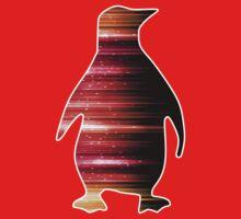 Warp Speed Penguin  One Piece - Short Sleeve
