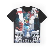 Sans and Papyrus Graphic T-Shirt