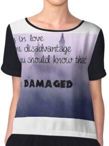 Damaged - TLC Chiffon Top