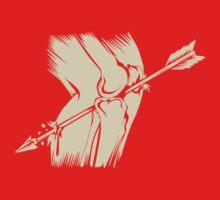 Arrow To The Knee One Piece - Short Sleeve