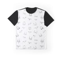 Swimming suit pattern monochrome Graphic T-Shirt