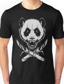Black Metal Panda Unisex T-Shirt