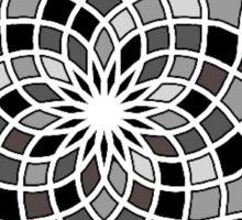Monochrome Mosaic  Sticker