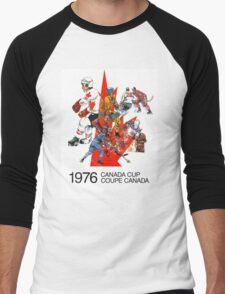 Canada Cup 1976 Men's Baseball ¾ T-Shirt