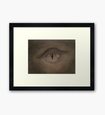 Eye of the Dragon Framed Print