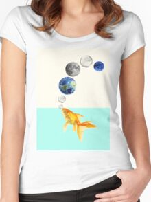 Just breath Women's Fitted Scoop T-Shirt