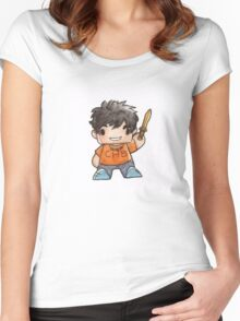 Percy Biddy.  Women's Fitted Scoop T-Shirt