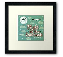 Flight of the Conchords - Folk the World Tour Framed Print