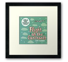 Flight of the Conchords - Folk the World Tour Framed Print