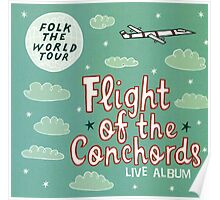 Flight of the Conchords - Folk the World Tour Poster