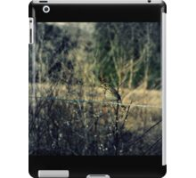 Sparrow on Barbed Wire iPad Case/Skin
