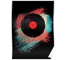 Vinyl Record - Modern Vinyl Records Grunge Design - Tshirt and more Poster
