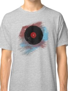 Vinyl Record - Modern Vinyl Records Grunge Design - Tshirt and more Classic T-Shirt
