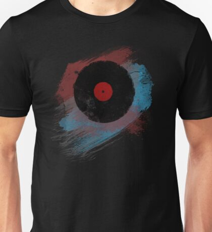 Vinyl Record - Modern Vinyl Records Grunge Design - Tshirt and more Unisex T-Shirt
