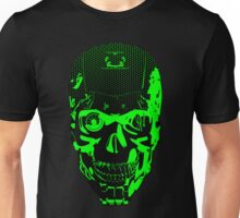 Gamer Skull CARTOON GREEN Unisex T-Shirt