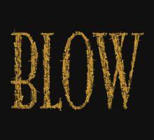 Blow BLACK & GOLD Kids Tee