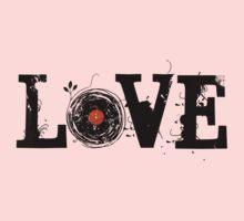 Love Vinyl Records Kids Tee