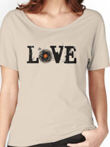 Love Vinyl Records Women's Relaxed Fit T-Shirt