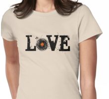 Love Vinyl Records Womens Fitted T-Shirt