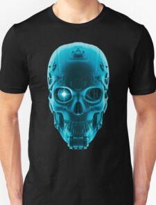 Gamer Skull BLUE TECH Unisex T-Shirt