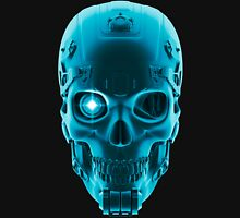 Gamer Skull BLUE TECH Unisex T-Shirt