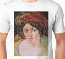 a Woman in a Turban after Girodet Anne-Louis Unisex T-Shirt