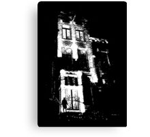 The door is open and the lights are on...  Urban TSHIRT Canvas Print