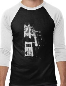 The door is open and the lights are on...  Men's Baseball ¾ T-Shirt