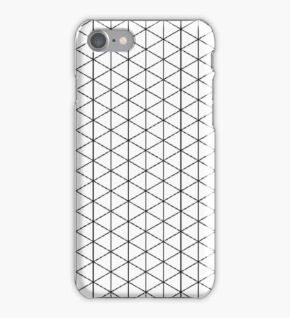Isometric Grid. iPhone Case/Skin