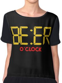 Is It Beer O Clock Chiffon Top