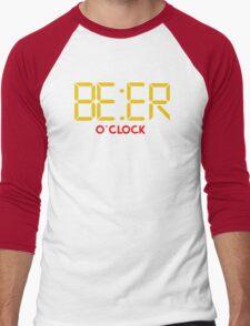 Is It Beer O Clock Men's Baseball ¾ T-Shirt