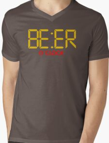 Is It Beer O Clock Mens V-Neck T-Shirt