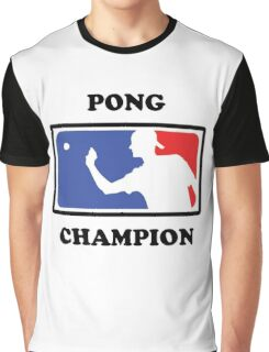 Pong Champion Graphic T-Shirt