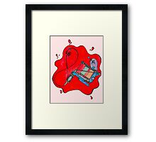 Tatted up!  Framed Print