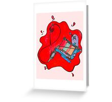 Tatted Greeting Card