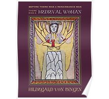 Medieval Woman Poster
