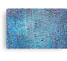 Old painted wall background Canvas Print