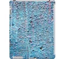 Old painted wall background iPad Case/Skin