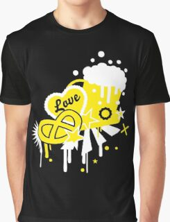 Beer Tent Love logo Graphic T-Shirt