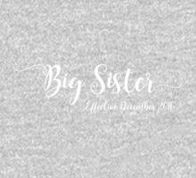 Big Sister Effective December 2016 One Piece - Short Sleeve