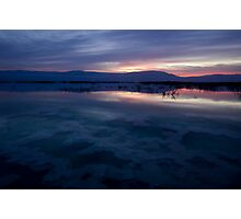 Israel, Dead Sea at dawn  Photographic Print