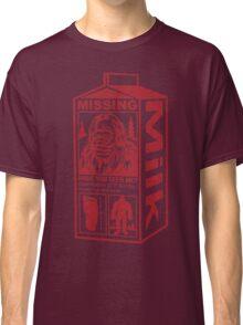 Sasquatch Milk Carton Classic T-Shirt