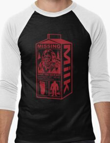 Sasquatch Milk Carton Men's Baseball ¾ T-Shirt
